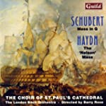 Mass in G by Schubert, Nelson Mass by...