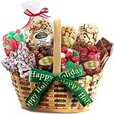 Golden State Fruit Seasons Greetings Christmas Treats Basket