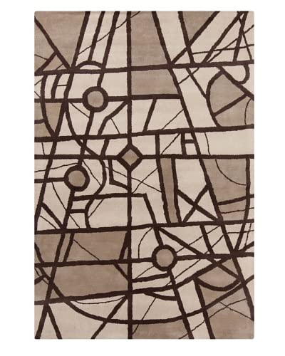 Filament Marisol Rug, Brown, 5′ x 7′ 6″'