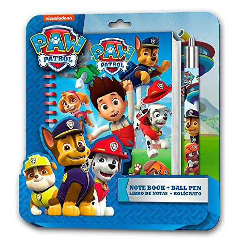 nickelodeon-pw16009-paw-patrol-note-book-with-pen
