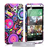 Yousave Accessories Jellyfish Silicone Gel Cover Case for HTC Desire 610