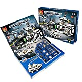 Fire Beast Super Police Building Blocks 890 Pcs Set.Compatible With Lego Parts, Best Toy, Great Gift!
