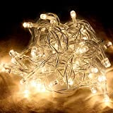 2X 4M 40 LED WATERPROOF WARM WHITE BATTERY OPERATED LED FAIRY STRING LIGHTS IDEAL FOR CHRISTMAS TREE LIGHTS, FESTIVE LIGHTS, BIRTHDAY PARTY LIGHTS,WEDDING