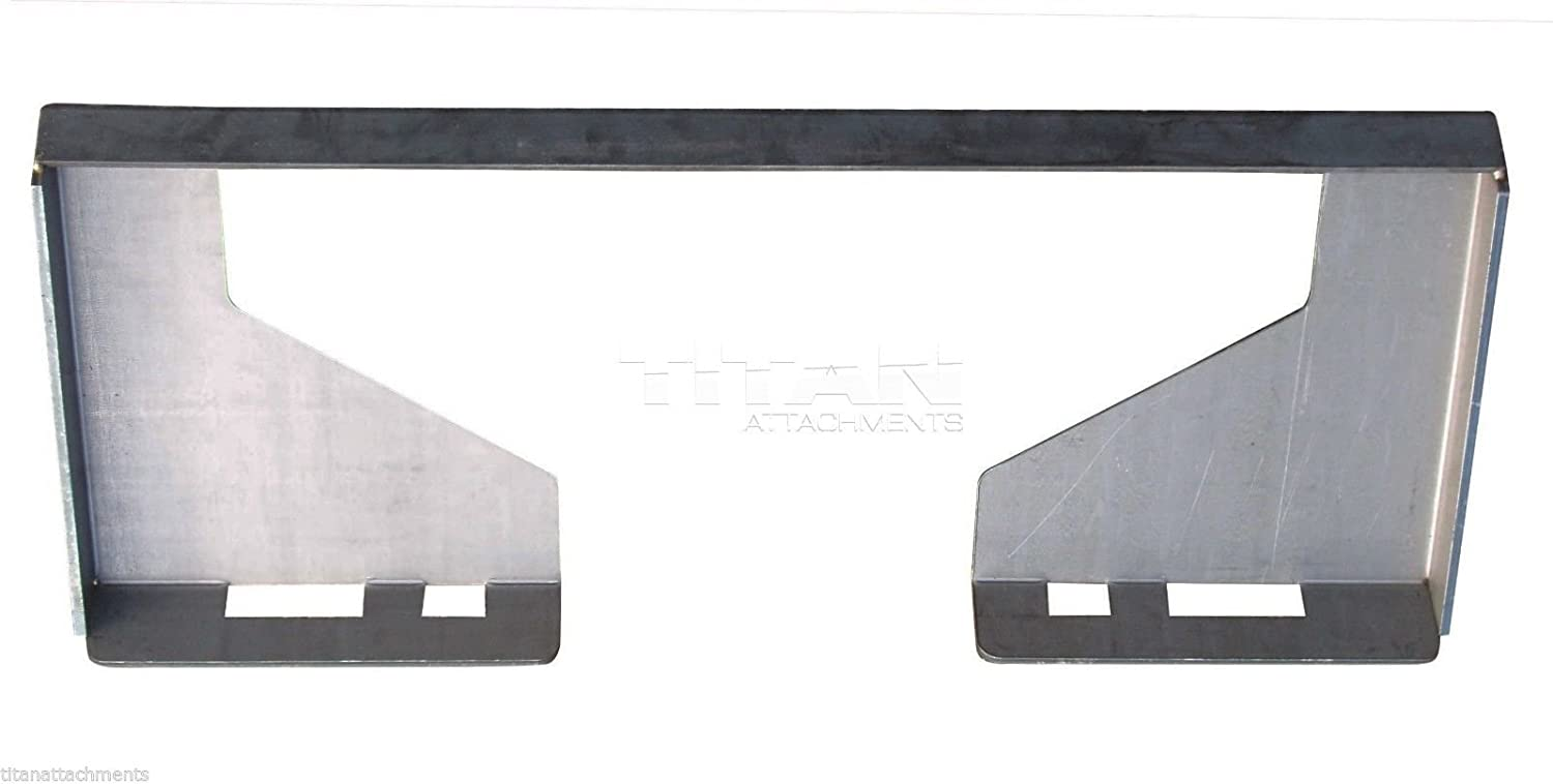 1/2 Quick Attach Attachment Mount Plate Skid steer Bobcat Skid Steer 12 MP-CO attachments retaining implant overdentures