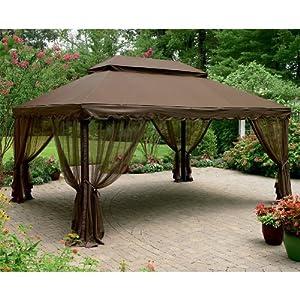 Amazon.com : 12 x 16 Ft Gazebo Replacement Canopy : Patio, Lawn