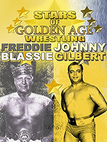 Stars Of Golden Era Wrestling Freddie Blassie and Johnny Gilbert