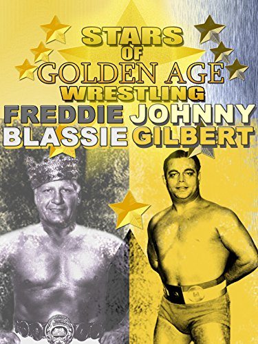Stars Of Golden Era Wrestling Freddie Blassie and Johnny Gilbert