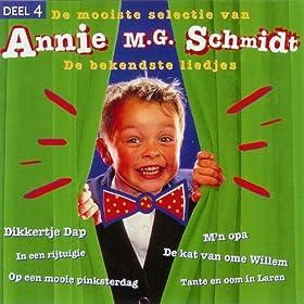 Amazon.com: Annie M.G. Schmidt 4 - De Bekendste Liedjes