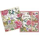 Michel Design Works Peony Bridge Cards Gift Set