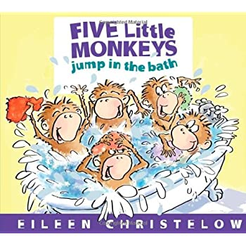 Set A Shopping Price Drop Alert For Five Little Monkeys Jump in the Bath