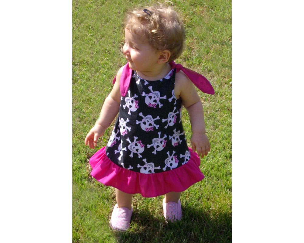 Baby Girl Pirate Summer Dress