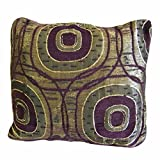 The Fancy Mart Golden Yellow Designer Cushion Cover - Set Of 2 Pcs Style Code - CC-69-2pc