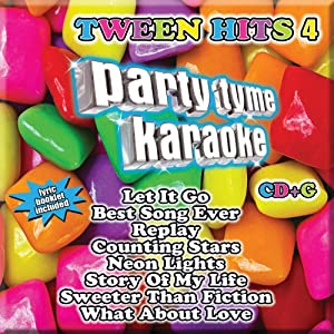 Party Tyme Karaoke: Tween Hits 4 by Sybersound Records