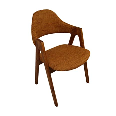 PAINTS.CUI Multi Colored Wood Armchair Living Room/ Office Furniture 52*78*60cm (Brown)