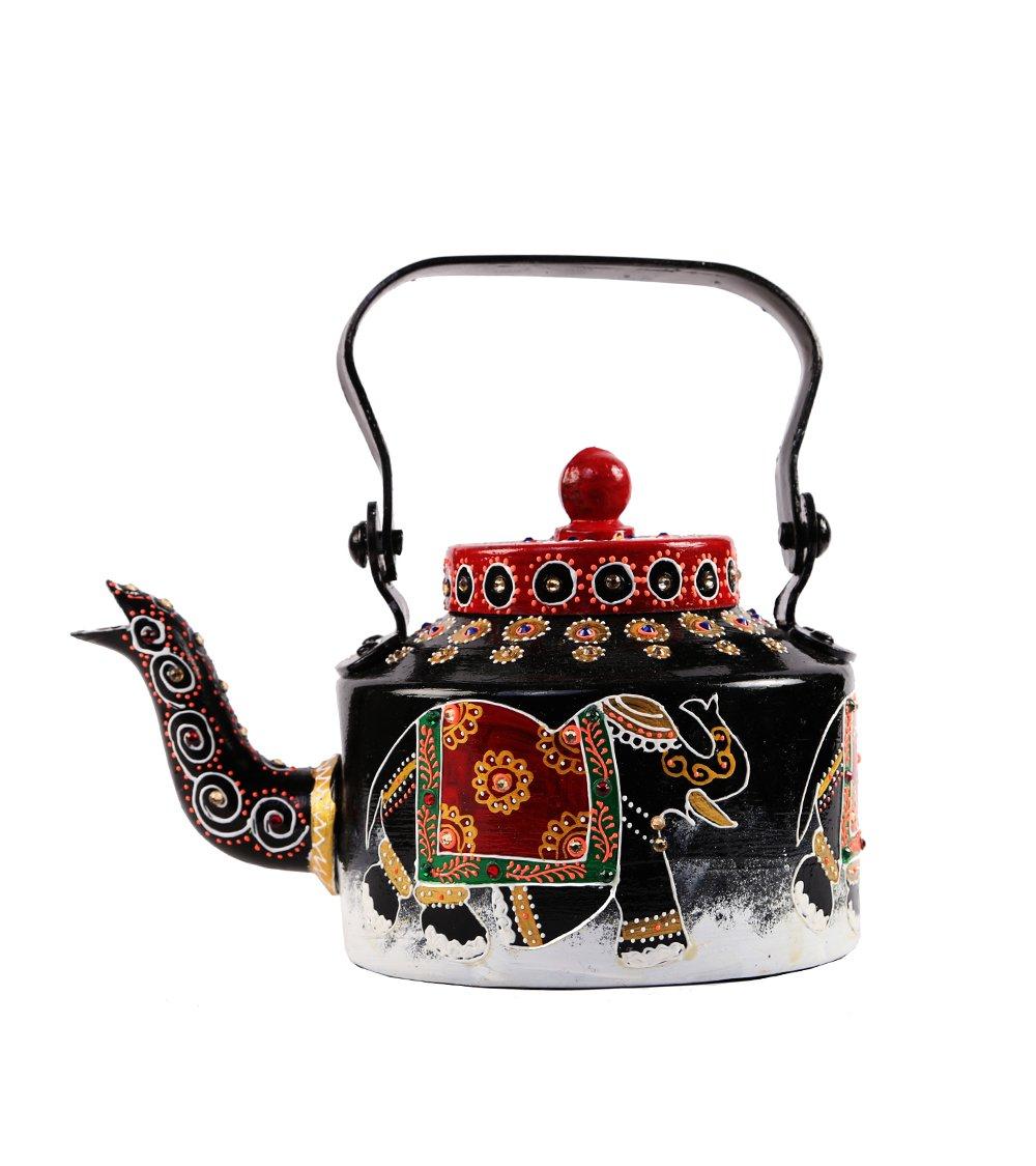 Decorative Teapot Kettle Kitchen Home Decor Vintage Style The Royal Reprise 0