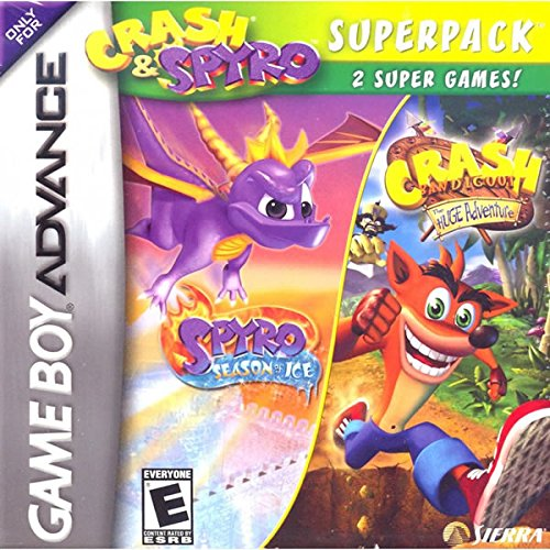 Crash & Spyro Super Pack Volume 4 Gameboy Advance GBA New (Crash Bandicoot Gameboy Advance compare prices)