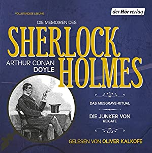 Die Memoiren des Sherlock Holmes Hörbuch