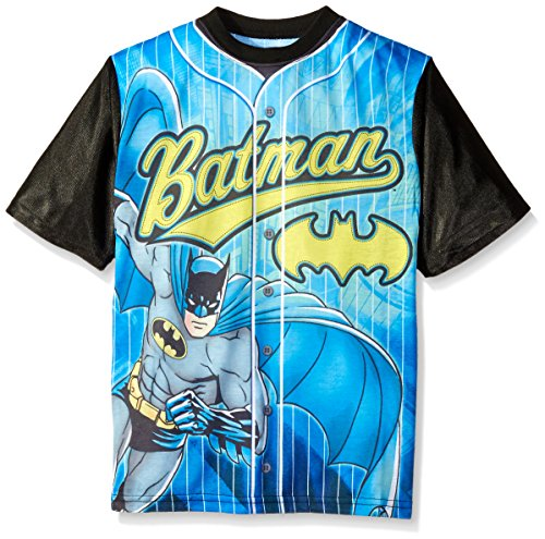 DC Comics Boys' Batman Front/Back Baseball Sublimation at Gotham City Store