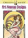 Creative Haven Art Nouveau Designs Co...
