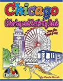 Chicago Coloring & Activity Book (City Activity Books) (City Books)