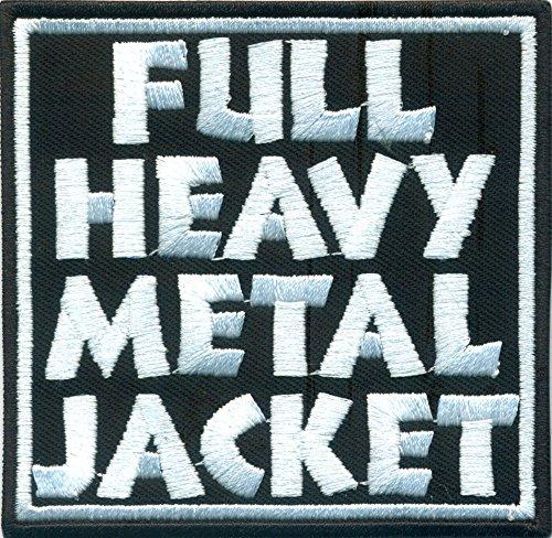 FULL Heavy Metal Jacket Full Metall Jacket Movie Biker Rockabilly Aufnäher Patch