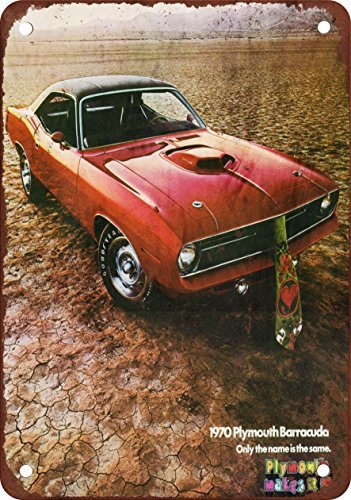 1970-plymouth-barracuda-vintage-look-reproduccion-metal-tin-sign-12-x-16-pulgadas