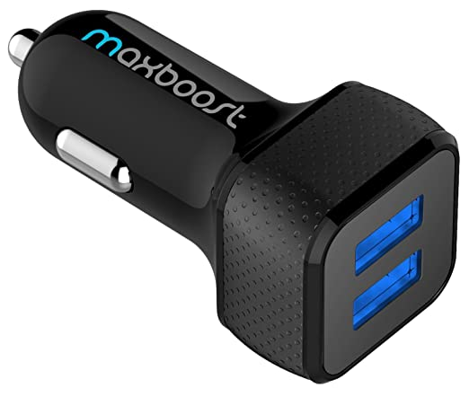 This is on my Wish List: Car Charger , Maxboost 4.8A/24W 2 Smart Port Car Charger [Black] for iPhone 6S Plus 6 Plus 6 5S 5 5C 4S, Samsung Galaxy S6 Edge Plus Note 5 4 S5 Tab S, LG G4, HTC One M9, Nexus 5X 6P 5, iPads Portable: Cell Phones & Accessories