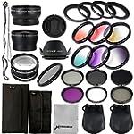 58mm Essential Lens Filter Set for Ca...