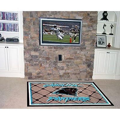 Fanmats Carolina Panthers 4x6 Rug