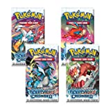 Pokemon Boundaries Crossed Black & White TCG Booster Cards - Four (4) Packs