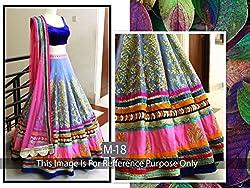 Vipani Fashions Women's Silk Lehenga Choli