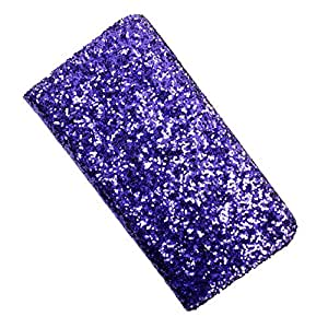i-KitPit PU Leather Wallet Flip Case Cover For Samsung Galaxy Ace S5830 (Purple)