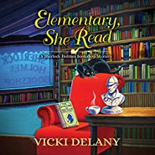 Elementary, She Read Audiobook by Vicki Delany Narrated by Kelly Clare