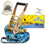 Macaco Travel Slackline - 11m Long (5...