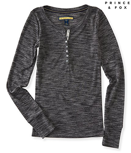 Aeropostale-Womens-Prince-Fox-Basic-Ribbed-Henley-Shirt