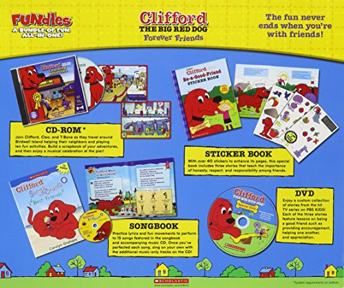 Clifford The Big Red Dog Friends Forever