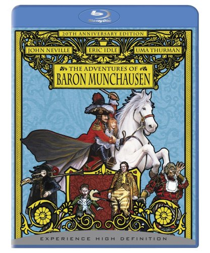 Cover art for  The Adventures of Baron Munchausen [Blu-ray]