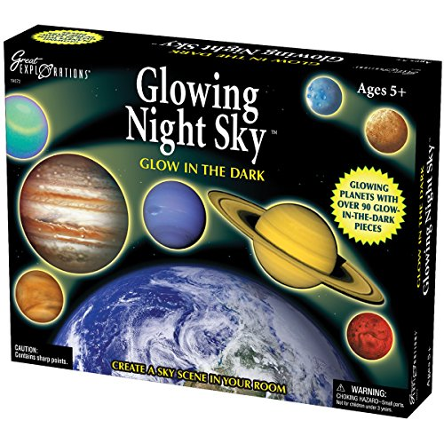 Glowing Night Sky Glow In The Dark front-10324