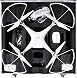 DJI Phantom 3&4 vision ファントム ビジョン マルチコプター 収納 プロペラ装着状態で収納OK ハード キャリー ケース :キー付 軽量、頑丈