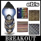 eb's / エビス TRANS MASK フェイスマスク バンダナ スノーボード LEOPARD