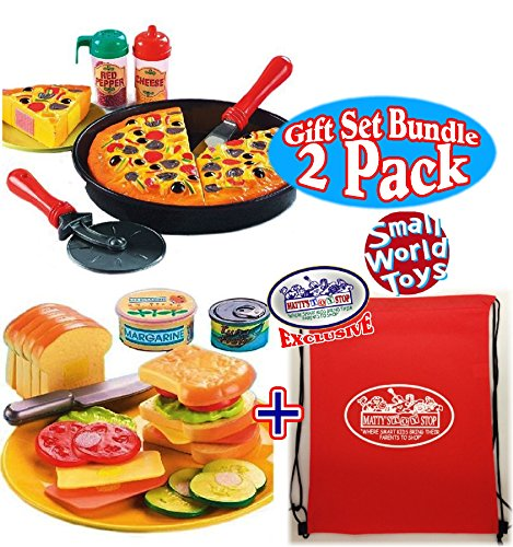 Small Toy Food : Awardpedia small world toys living my oh pizza pie