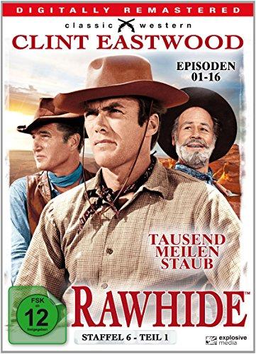 Rawhide - Tausend Meilen Staub - Season 6.1 [4 DVDs]