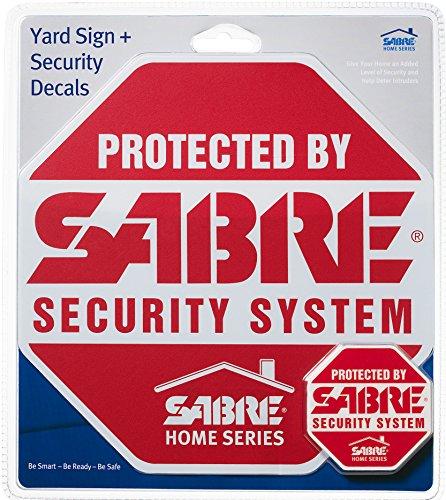 Sabre Security Yard Sign