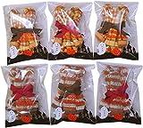 【タオルの萩原】 ハロウィン タオルハンカチ ベア 6個セット 2柄各3個 ラッピング袋入 ハロウィンベア6P hwth-bear-6p