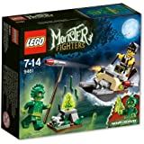 Lego Monster Fighters - 9461 - Jeu de Construction - La Créature des Marais