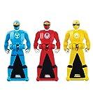 Pow 6009 Power Rangers Ninja Storm Legendary Ranger Key Pack Red/Blue/Yellow
