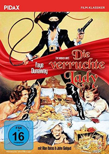 Die verruchte Lady (The Wicked Lady) / Abenteuerfilm mit Faye Dunaway und Alan Bates (Pidax Film-Klassiker)