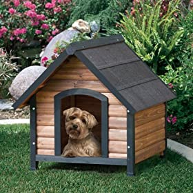 Outback Extreme Country Lodge Dog House Size: Small (27 W x 30 D)
