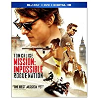 Mission: Impossible - Rogue Nation [Blu-ray + DVD + Digital]