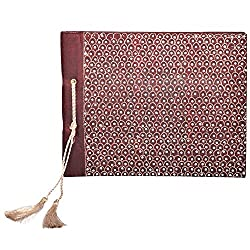 In Design Silk Handmade Paper Photo Album (EH02, Maroon)